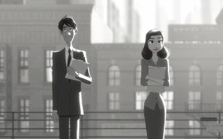 Pixar Shorts: Paperman (2012)